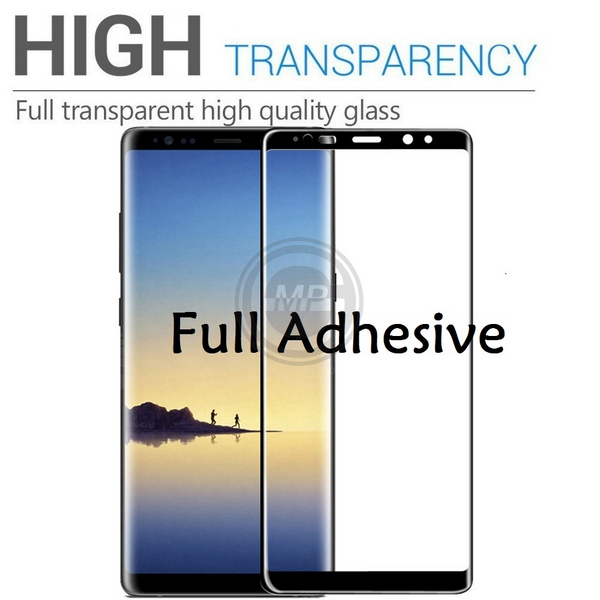 Full Glue Curved Tempered Glass Screen Protector - Mobile Phone