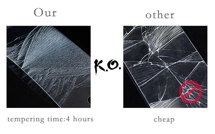 Want to know the reality of Tempering Time for tempered glass screen protector?