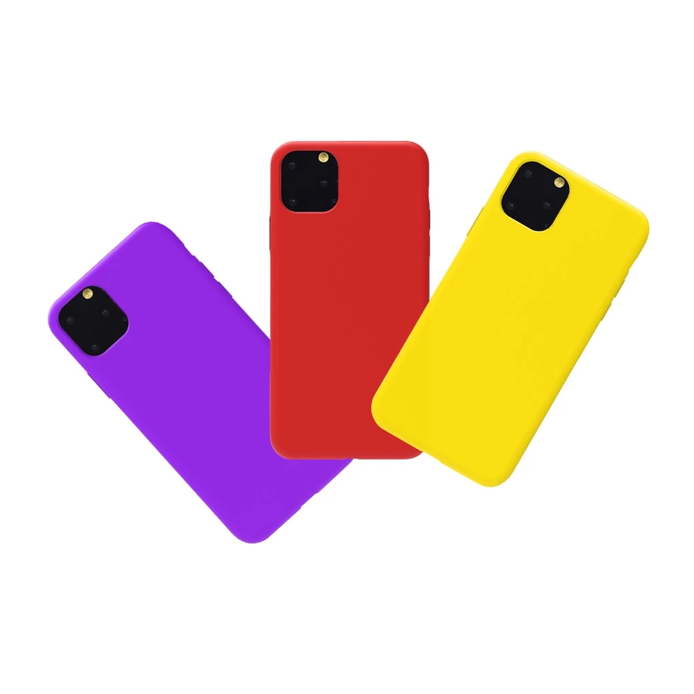 Best selling shockproof liquid silicone rubber mobile back cover phone case luxury tpu cell phone case for Iphone 11 pro Max