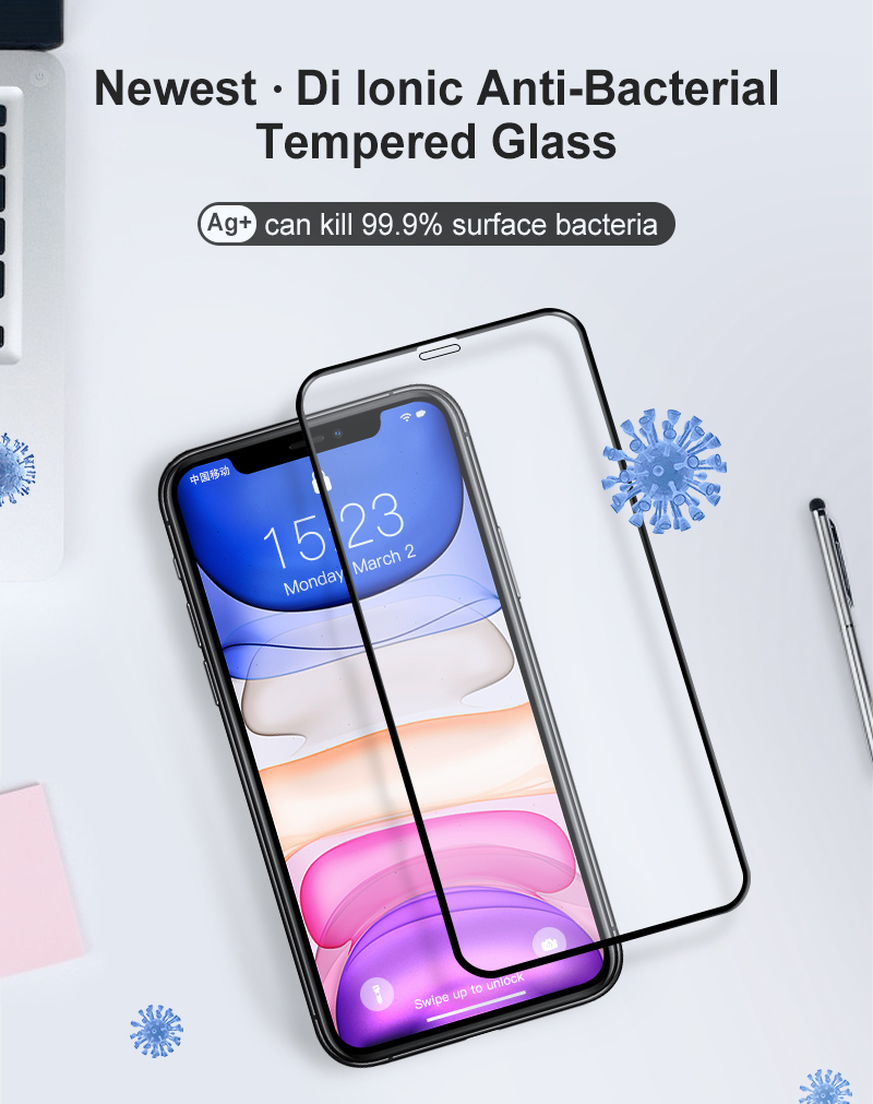 Tempered Glass Screen protector may save you from Covid and other infections